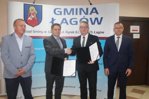 Podpisanie listu intencyjnego wsprawie rozwoju sieci gazowej