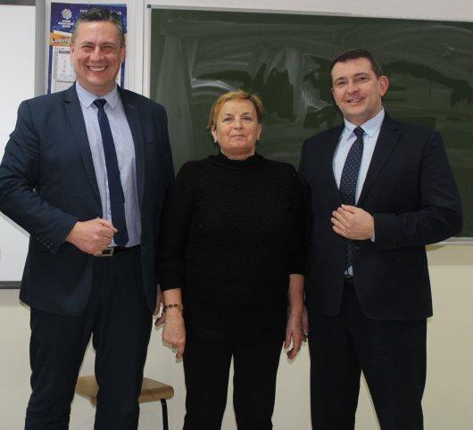 Spotkanie członków UTW w Łagowie z dr n med. Grzegorzem Gałuszką